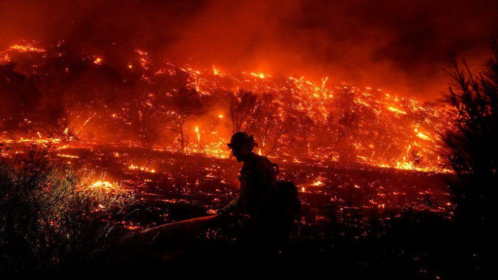 Amerika Serikat Catat Rekor Dunia Terjadinya Banyak Bencana Yang Diakibatkan Perubahan Iklim yang Ekstrim Selama 2020